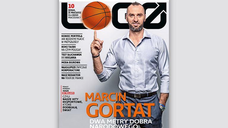 Marcin Gortat bohaterem okładkowym wrześniowego LOGO!