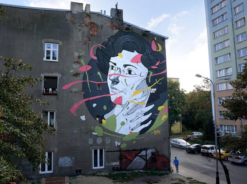 Nie tylko ulica piotrkowska w zagranicznym rankingu for Mural na tamie w solinie