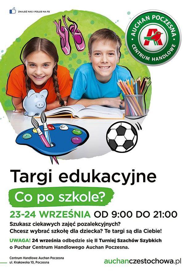 Targi Edukacyjne W Auchan Poczesna Oferty Dla Rodzicow I Dla Dzieci