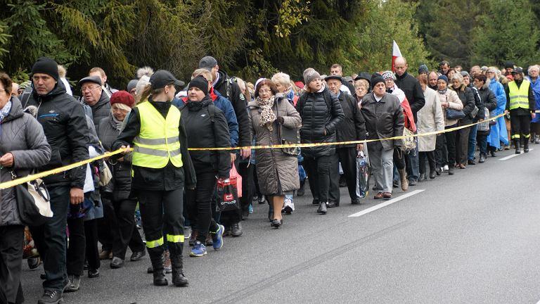 Różaniec do granic w Jurgowie