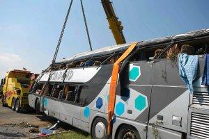 Zmar�a jedenasta ofiara wypadku drogowego pod Dreznem