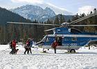 Śmiertelny wypadek w Tatrach. Turysta poślizgnął się i zjechał Bulą pod Rysami