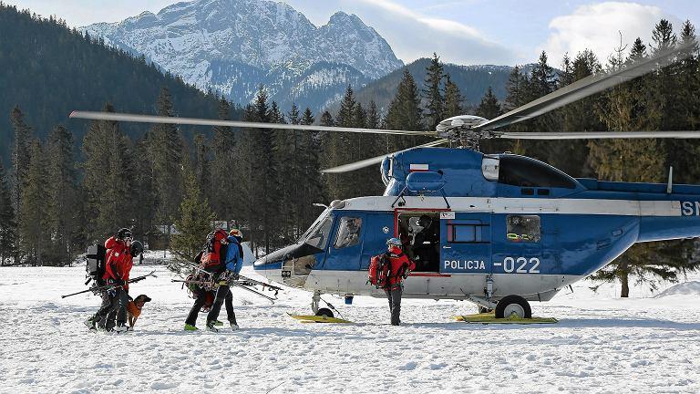 Akcja ratunkowa TOPR