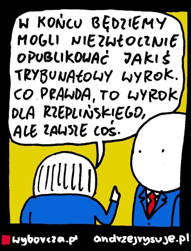 Andrzej Rysuje | Wyrok - Andrzej Rysuje, 18.08.2016 -