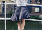 Plisowane spódnice - retro akcent w nowoczesnym wydaniu