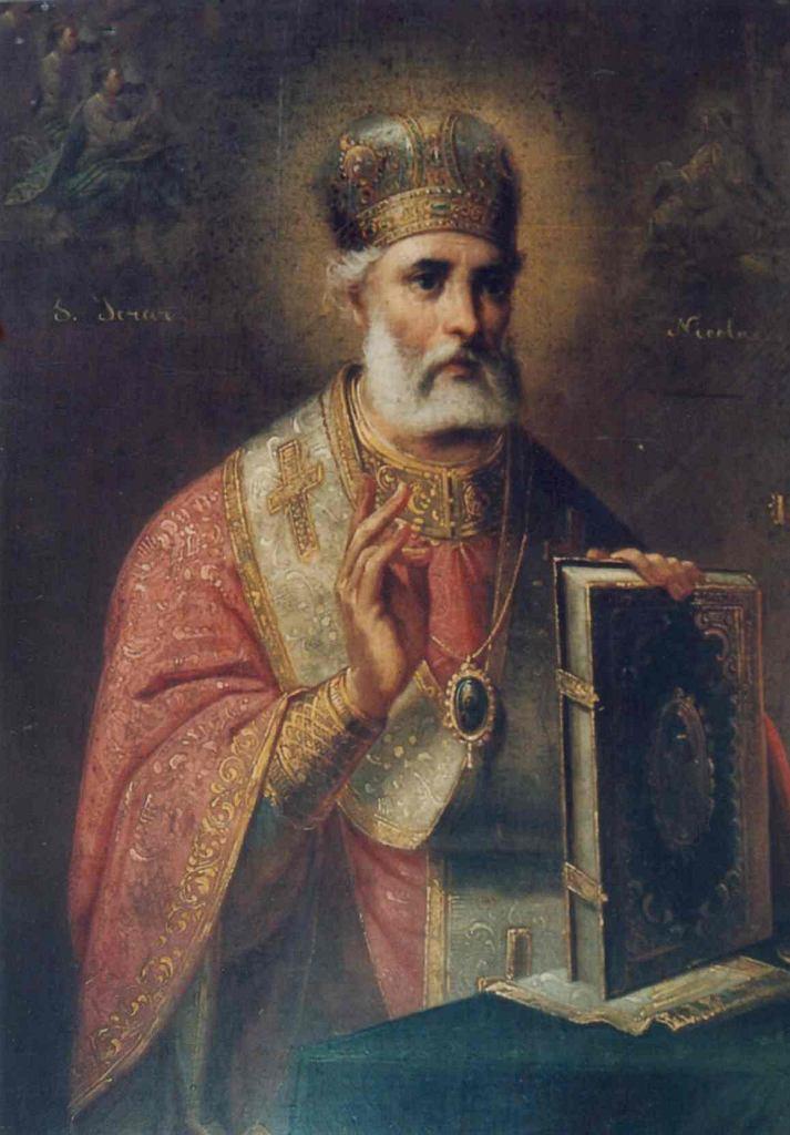 Gheorghe Tattarescu (1818-1894), Św. Mikołaj / Domena publiczna