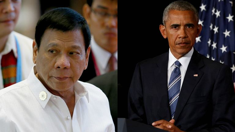 Rodrigo Duterte, Barack Obama