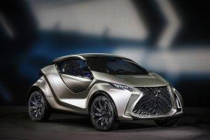 Salon Genewa 2015   Lexus LF-SA   Najmniejszy w rodzinie