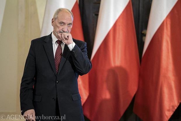 Macierewicz w USA: Stany gotowe do rozmieszczenia wojsk w Polsce