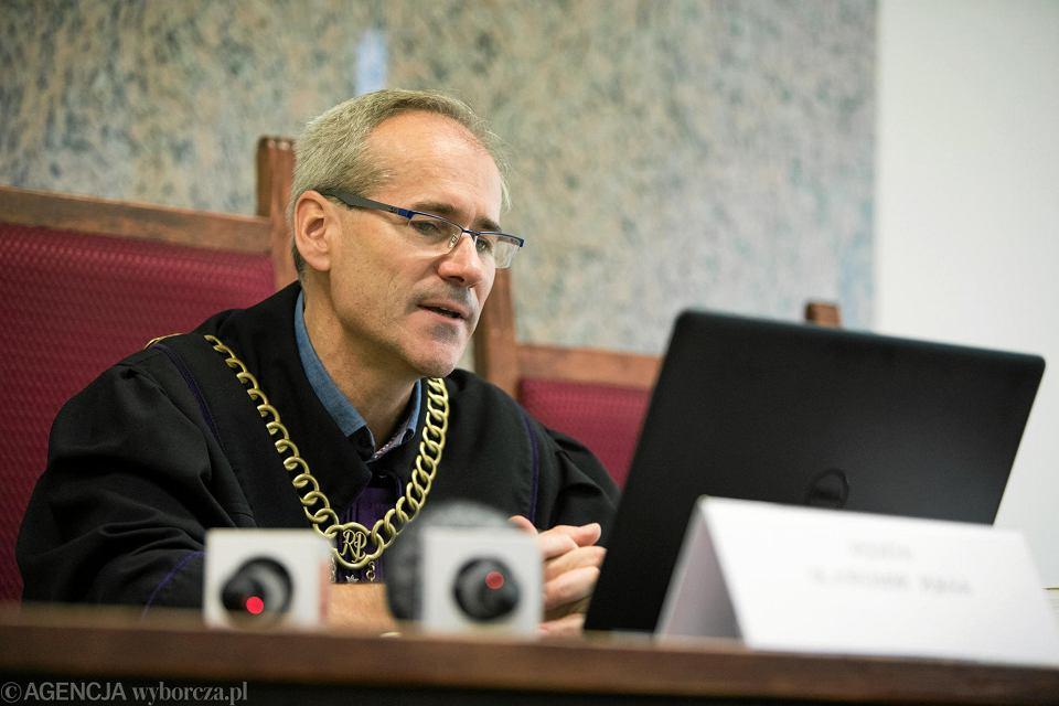 Sędzia Sławomir Jęksa