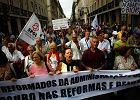 Portuglaia. Protest przeciwko cięciom w budżetówce