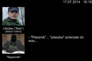 """Separaty�ci dwie minuty przed zestrzeleniem samolotu: """"Ptaszek"""" polecia� do was"""