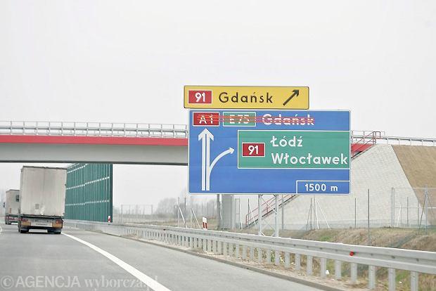 Autostrada A1. Mo�na budowa� odcinek Stryk�w -Tuszyn