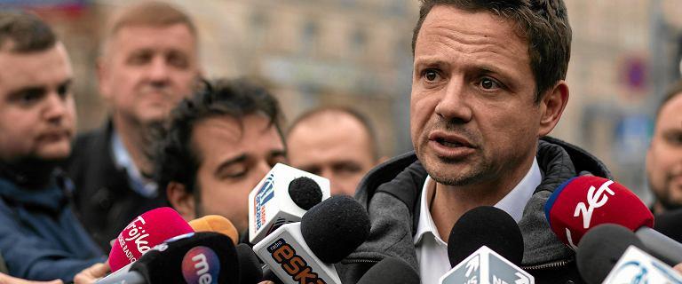 Rafał Trzaskowski: Patryk Jaki rzucił legitymacją partyjną. Warszawiacy nie dali się na to nabrać