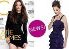 """Stylowa Katie Holmes w sesji ok�adkowej dla """"C Magazine"""" [ZDJ�CIA]"""