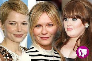 Pięć najlepszych fryzur gwiazd dla okrągłej twarzy