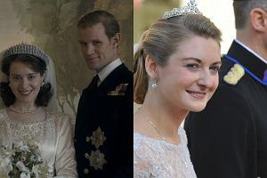 Kadr z filmu The Crown, ślub księżnej Stefani