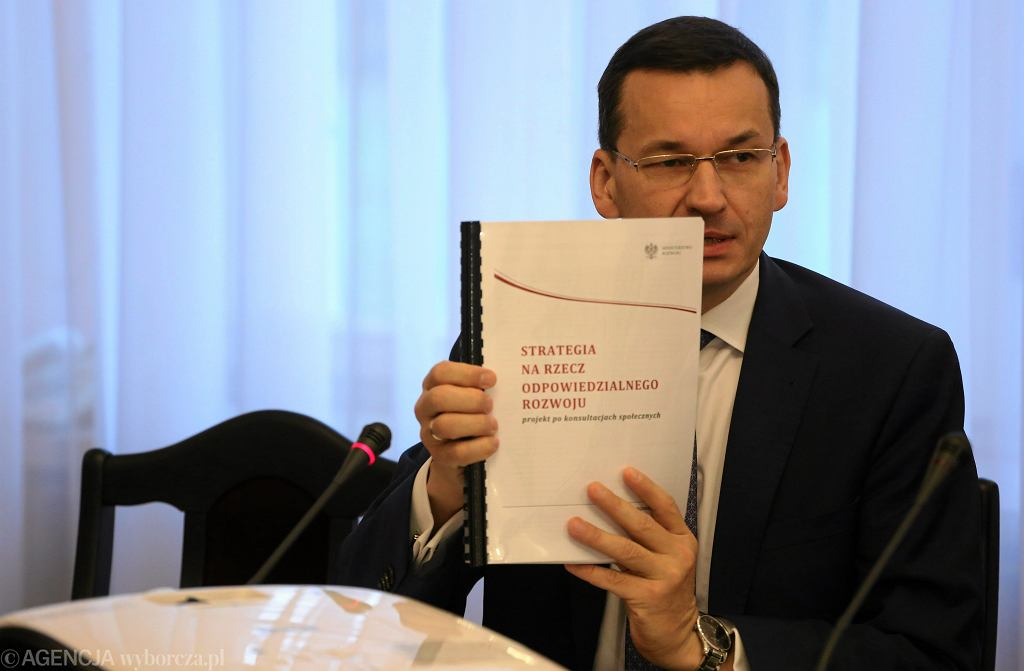 Wicepremier Mateusz Morawiecki podczas Komisji Gospodarki