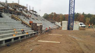 Budowa stadionu miejskiego przy al. Unii