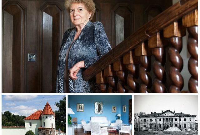 Beata Ostrowska-Harris i jej pałac w Korczewia