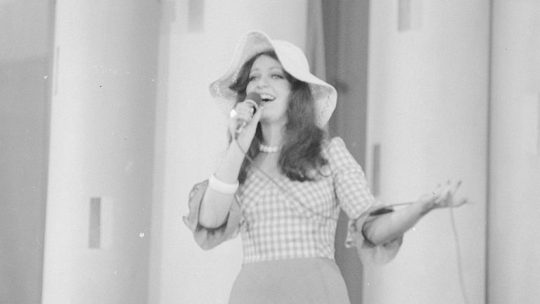 Anna Jantar w 1974 roku