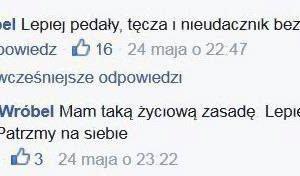 """Radny Opola przesadzi� w dyskusji na Facebooku. """"Lepiej peda�y, t�cza i ..."""""""