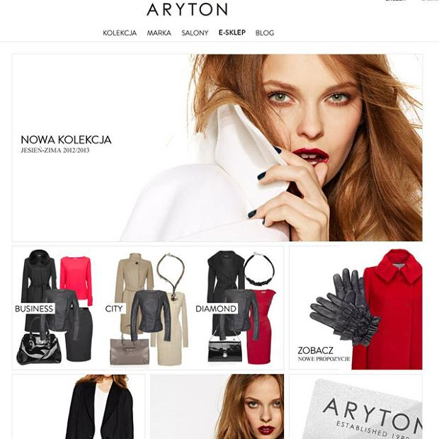 Premiera serwisu i sklepu internetowego ARYTON