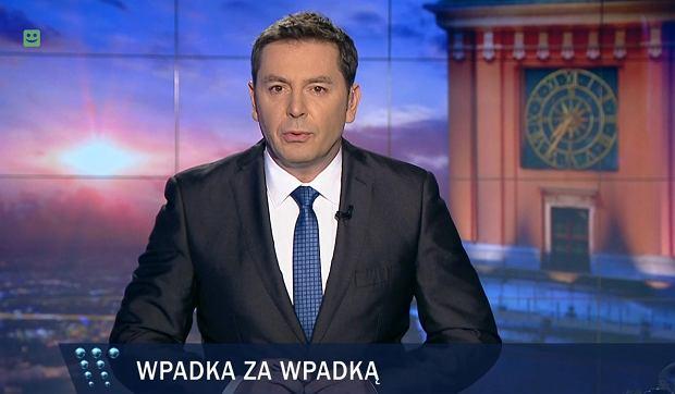 """Programy informacyjne TVP w zeszłym roku traciły widzów. """"Wiadomości"""" pół miliona"""