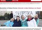 """Niemiecka prasa o wyborze Biedronia: """"Rewolucja na polskiej prowincji"""", """"fenomen"""", """"z�amanie tabu"""""""