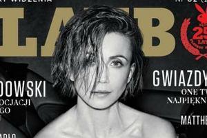 Katarzyna Zielińska na okładce 'Playboy'a'