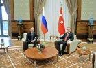 W�adimir Putin i Tayyip Erdogan
