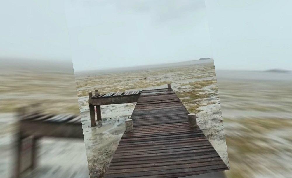 Huragan Irma dosłownie zassał ocean