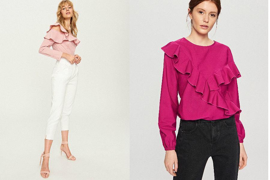 d46077ea4b24 Eleganckie bluzki damskie  modele na specjalne okazje