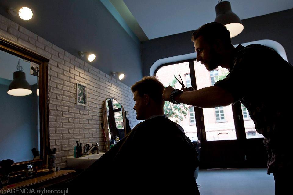 Nowy Barber Shop W Bydgoszczy Przy Modnej Ulicy Zdjęcia