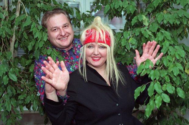 Maryla Rodowicz i Andrzej Dużyński