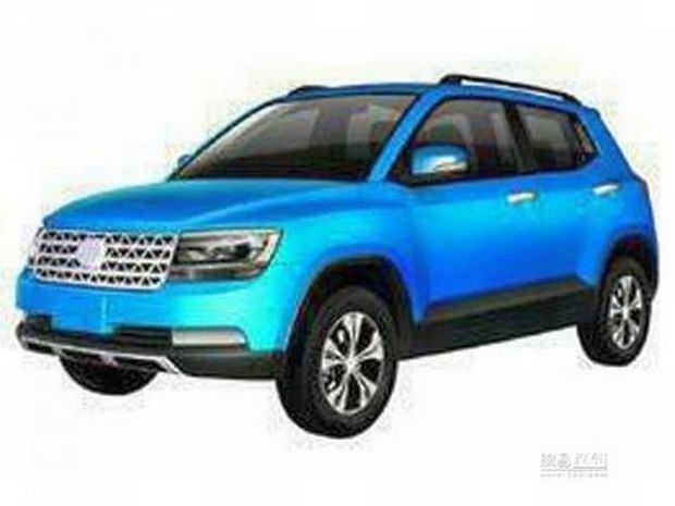 Chińska kopia Volkswagena Taiguna