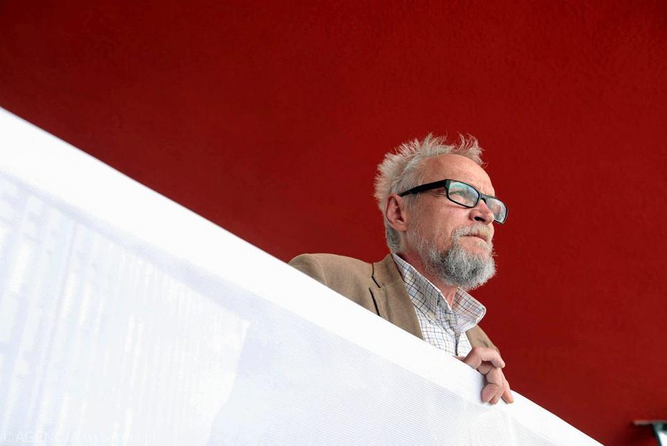 Lider stowarzyszenia Obywatele RP Paweł Kasprzak