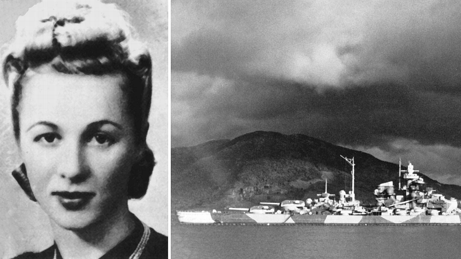Zofia Rapp i niemiecki pancernik, którzy alianci zniszczyli dzięki jej działaniom