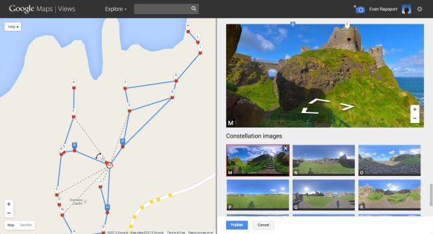 Tak się robi własne Google Street View.