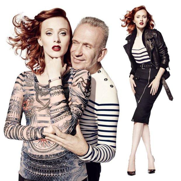 Jean Paul Gaultier dla Lindex: mamy pierwsze zdjęcia kolekcji!