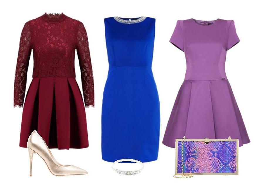 f499701bf7 Sukienki na wesele jesienią - odkryj trzy najmodniejsze kolory