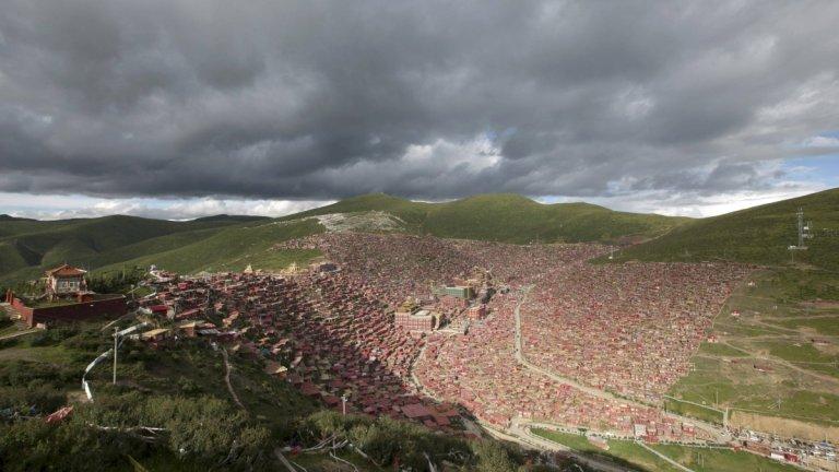 Larung Gar - niezwykłe miasto mnichów w Tybecie