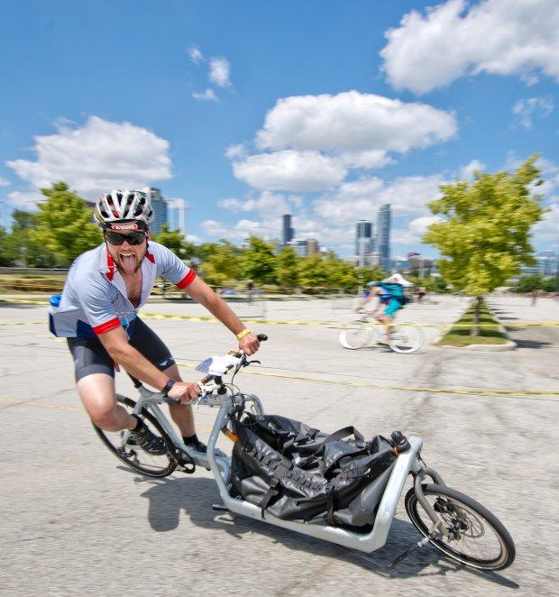 Bullit rower towarowy