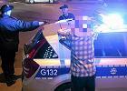 Kraków: Policja przerwała nielegalny nocny zlot samochodowy. Ponad 200 kierowców ukaranych