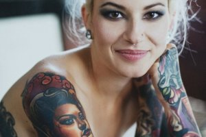 Yvonne Heartmann: Ludzie my�l�, �e skoro mam tatua�e, to zadzieram nosa i imprezuj�