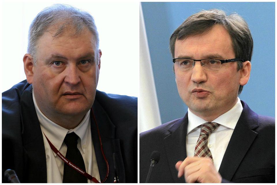 Bogdan Święczkowski, Zbigniew Ziobro