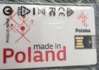 """Made in China"" na opakowaniu pendrive'a promuj�cego polsk� gospodark�. Internauci si� �miej�"
