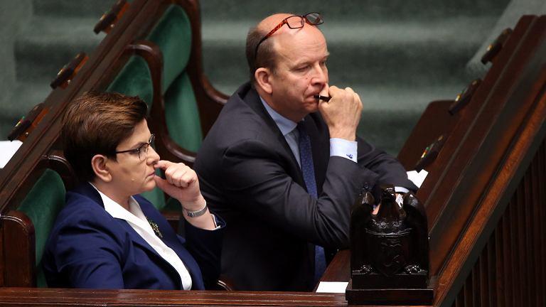 Beata Szydło, Konstanty Radziwiłł