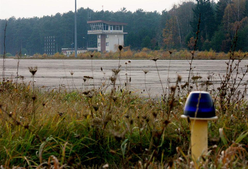 Lotnisko w Szymanach, na którym prawdopodobnie lądowały samoloty CIA z więźniami