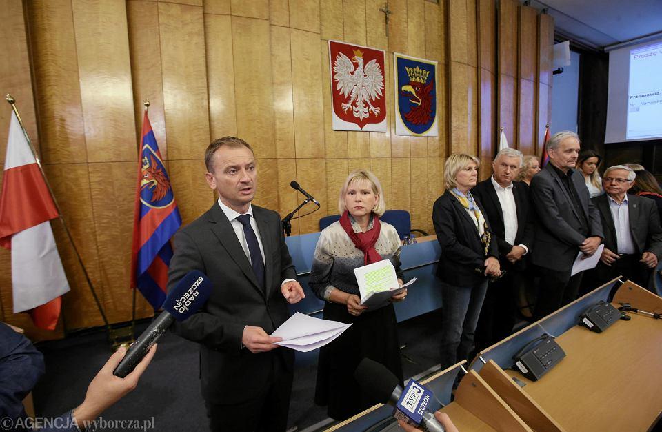 Nadzwyczajna sesja rady miasta nie odbyła się, bo zabrakło quorum